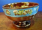 English Copper Lustre Footed Bowl, c. 1830