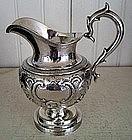 Early New York City Silver Cream Jug, c. 1865