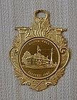 Gilt Bronze Fireman's Medal of Manor Hall, c. 1935