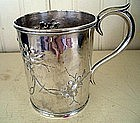 Early American Boston, Mass Silver Cup, dated 1857