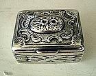 18th Century Continental Silver Snuff Box, c. 1780