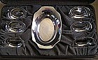7-Piece International Sterling Nut Set in Box, c. 1928