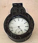 English London Sterling Silver Pocket Watch, 1866-67