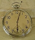 E. Howard Watch Co. White Gold Filled Pocket Watch 1917