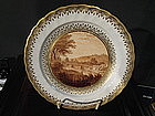 English Derby Porcelain Luncheon Plate, c. 1795