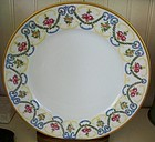 French Handpainted Limoges Dessert Plate, c. 1911