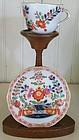 German Meissen Porcelain Cup and Saucer, c. 1830