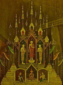THAI 19TH CENTURY PAINTING