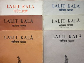 LALIT KALA INDIAN ART JOURNAL 6 ISSUES