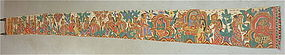 INDONESIAN long hand painted scroll