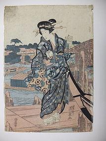 JAPANESE PRINT EISEN