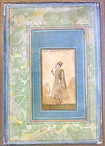 INDIAN MINIATURE PAINTING 18TH CENTURY