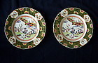 A pair of Mason's Patent Ironstone China plates