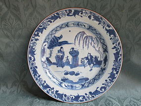Chinese export plate Mid-18th century