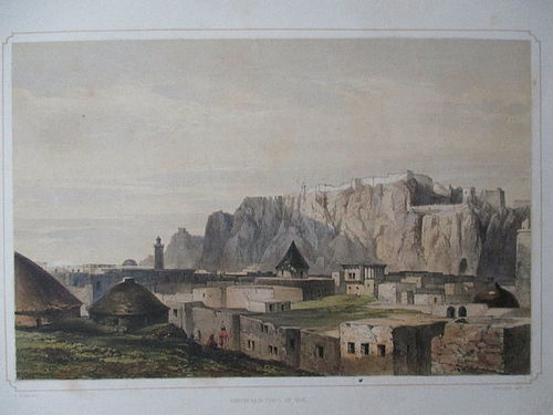 Lithograph of Van, Turkey published London 1852