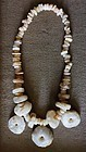 neolithic quartz bead necklace
