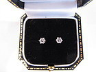 .50cttw Diamond Stud Earrings in 14k White Gold