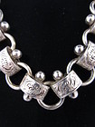 Victorian Sterling Silver Collar