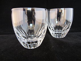 Baccarat Lorraine Pattern Small Tumblers