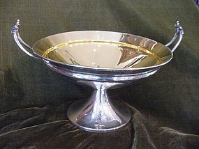 Gorham Coin Silver Centerpiece Bowl, 1863