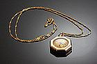 14K Elgin Watch - Circa 1900 - On Later Chain