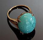 14K & Turquoise Ring