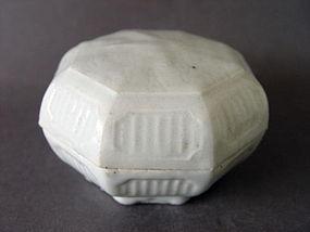 A rare Southern Song Dyn. Qingbai glazed covered box