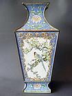A 19th.century Canton enamel vase