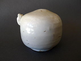A rare Korean Choson period bee-hive form water dropper