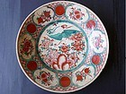 A very perfect, extrordinary large Ming Dynasty Swatow polychrome dish