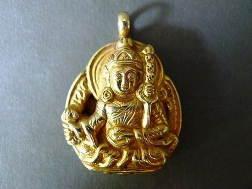 Tibetian pendant of Yama / Irma, the Tibetian God of the Underworld