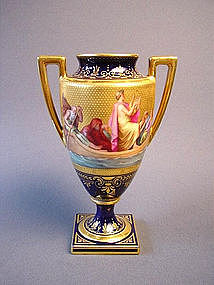 Signed imperial Vienna Biedermeier Urn .