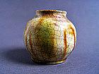 Very nice Tang Dynasty Sancai glazed Jarlet