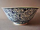 Large Ming Jiajing blue&white Bowl