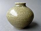 Nice larger Longquan ware celadon glazed Jarlet