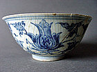 Example for a top Chenghua Minyao blue & white Bowl