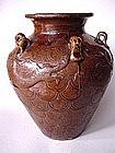 Ming Dyn. 16th century Chinese dragon - jar !