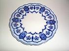 ECLIPSE FLOW BLUE 10'' PLATE JOHNSON BRS ENGLAND