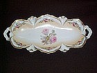 RS PRUSSIA RED MARK 10'' ROSES TRAY