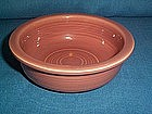 VINTAGE FIESTA ROSE 4 3/4'' FRUIT BOWL