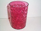 CRANBERRY SMALL THUMBPRINT TUMBLER