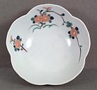 19c Japanese porcelain KAKIEMON flower bowl chrysanthem