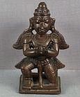 19th C Indian bronze GARUDA Vishnu Vehicle
