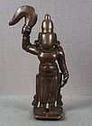 Rare 18c Indian bronze SHATRUGHNA