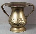 19c Japanese bronze MIMIKUCHI vase