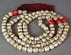 19c Chinese ivory BUDDHIST ROSARY mala