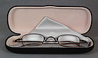 10X magnifying titanium EYEGLASSES for netsuke /jewelry