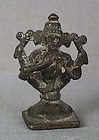 18c Indian bronze GANESHA