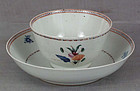 18c Chinese export porcelain CUP & SAUCER