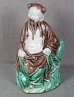 19c Chinese porcelain sculpture ELDER